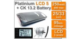 KIT Platinium LCD5 + Batería ck 36 v. 13.2 Ah.