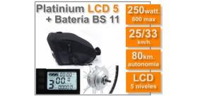 KIT Platinium LCD5 + Batería BS 36 v. 11 Ah