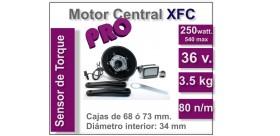 Kit Motor XFC PRO 36 V. con batería GP 11 Ah. - 2017