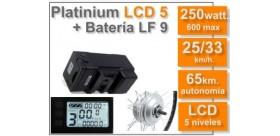 KIT Platinium LCD5 + Batería LF 36 v. 9 Ah.